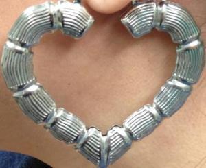 Silverheart Earing