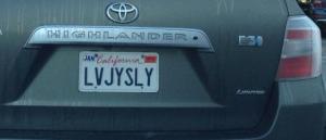 Love Joyously Plate