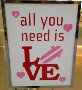 Sign All You Need is Love